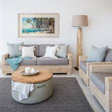 The LIVING ROOM With The Beach Furniture The Beach Furniture