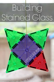 Picasso Magnetic Tiles Uk by Building With Magna Tiles Stained Glass Activities Learning