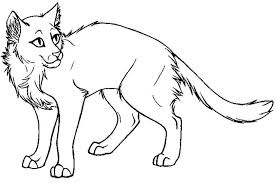 Coloring Sheets Gallery Website Warrior Cat Pages