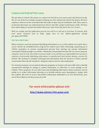 100 Commercial Truck Title Loans Car Atlanta FlipHTML5