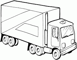 Semi Truck Coloring Pages Free For Kidsfree Super Sonic On Car Printable
