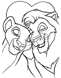 Lovely Lion King Coloring Pages 42 In Picture Page With