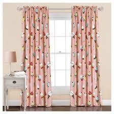 Lush Decor Window Curtains by Cupcake Ice Cream Window Curtain Set 84 X 52