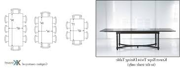 10 Seater Dining Table Dimensions Choosing The Right Size Intended For 8