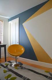Incredible Decoration Wall Paint Patterns 25 Dazzling Geometric Walls For The Modern Home Freshome