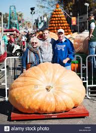 Pumpkin Contest Winners 2015 by Circleville Ohio Usa 21st Oct 2015 Rusty Ortman Poses With
