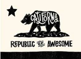 California Republic Of Awesome Posted By Lorri Aiello To Friends The Bear Flag