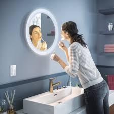 philips hue bluetooth white ambiance adore spiegel mit beleuchtung in weiß 2400lm mit dimmschalter