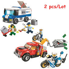 100 Toy Tow Trucks For Sale BELA City Police Money Transporter Truck Trouble Building Blocks