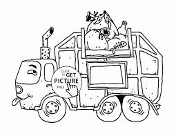 100 Coloring Pages Of Trucks Dirty Garbage Truck Page For Kids Transportation Throughout