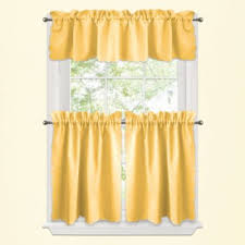 Yellow And Grey Bathroom Window Curtains by Yellow Bathroom Curtains Home Interior Design Ideas
