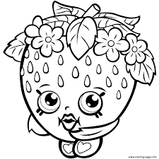 Free Shopkins Printables Coloring Pages 2