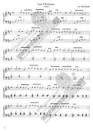Last Christmas free sheet music by Last Christmas