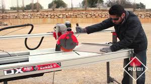 Husky Wet Tile Saw Blade by Wet Saw Tile Cutter Cortador Eléctrico Rubi Dx 250 Youtube