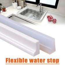 silikon dusche wasserstopper stopp streifen boden badezimmer