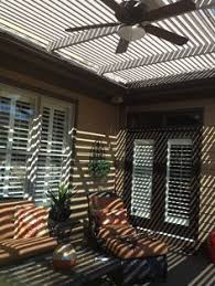 Louvered Patio Covers San Diego by Add An American Louvered Roof To Your Patio Open Or Close Your