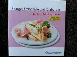 spargel erdbeeren und rhabarber weight watchers