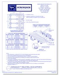 Bison Deck Supports Denver Co by Bison Innovative Products Non Structural Surfacing Hardware And