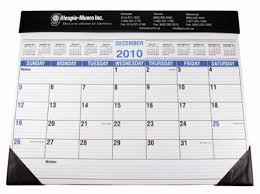 giant desk pad blotter calendar only 3 99 each when you order 100