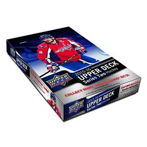 Upper Deck NHL 2015-16 NHL Upper Deck Series Two Hockey Hobby Box