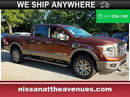 100 Nissan Diesel Pickup Truck New 2018 Titan XD For Sale At Coggin At The Avenues