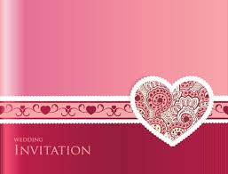 Wedding Invitation Card Vector1