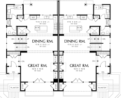 100 Contemporary Duplex Plans Modern Style House Plan 3 Beds 25 Baths 2861 SqFt Plan 48261