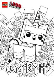 Movie Coloring Pages Lego Party Ideas Goody Bags Or Activity To Print