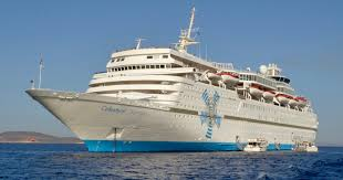 Cruise Ship Sinking Now by Celestyal Olympia A Cruise Ship That Will Take You To Greek Islands