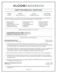Medical Administrative Assistant Resume Sample Certified For Entry Level