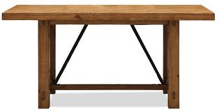 Riverside Furniture Summer Hill Rustic Gathering Table with Metal