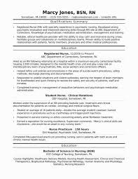 Nursinghool Resume Examples Application Samples Best Of Sample For Registered Nurse With No Experience Archives