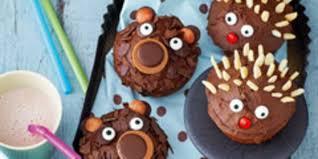 rezepte für den kindergeburtstag lustige muffins familie