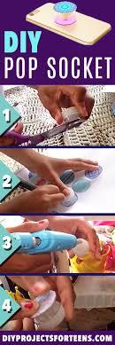 DIY Pop Socket Tutorial And Video