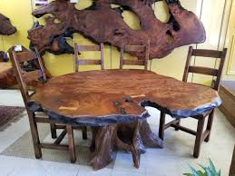 Redwood Live Edge Dining Table – Moose Crossing Burl Gallery Live Edge Ding Room Portfolio Includes Tables And Chairs Rustic Table Live Edge Wood Farm Table For The Milton Ding Chair Sand Harvest Fniture Custom Massive Redwood Made In Usa Duchess Outlet Amazoncom Qidi Folding Lounge Office Langley Street Aird Upholstered Reviews Wayfair Coaster Room Side Pack Qty 2 100622 Aw Modern Allmodern Forest With Fabric Spring Seat 500 Year Old Mountain Top 4 190512
