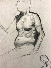 100 John De Oliveira Charcoal Drawings