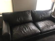 Crate And Barrel Axis Sofa Leather by Crate And Barrel Sofa Ebay