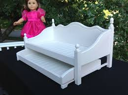 american doll furniture white daybed with trundle
