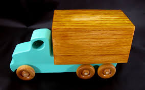100 Toy Moving Truck Handmade Wooden S Box Van From The Quick N
