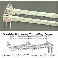 Wooden Decorative Traverse Curtain Rods by Elegant 9 Best Keep It Simple And Sweet With Traverse Rod Curtains