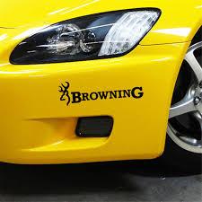 100 Browning Decals For Trucks 22863cm Hunt Deer Buck Chasse Car Sticker Vinyl Car