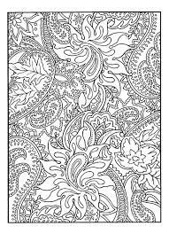 Free Coloring Page Adult Pretty Patterns Plant