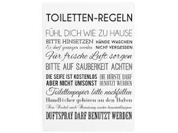 wandtafel holz dekoschild toiletten regeln geschenk shabby badezimmer wc