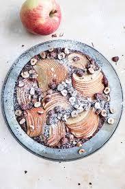 glutenfreier apfel schoko kuchen