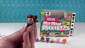 Aqua Box My Mini Mixie Q s New Figures Blind Box Toy Opening