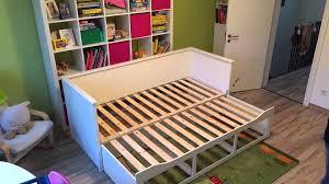 Ikea Brimnes Bed Instructions by Maya U0027s Neues Ikea Hemnes Bett Youtube