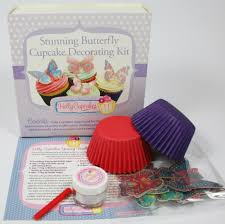 Stunning Butterfly Cupcake Decorating Kit