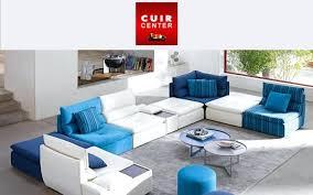 canap cuir 2 places cuir center design d intérieur canape convertible modulable canap places cuir