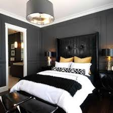 Bedroom Design Ideas Pictures Remodels And Decor Black White Light Gold