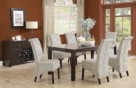 20 Leather Parsons Dining Room Chairs New